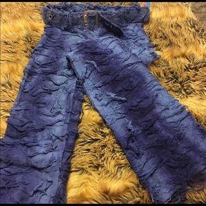 Surf Street blue worn look stretch jeans NWT 5/6